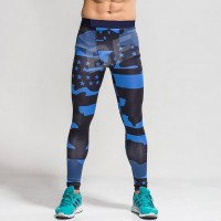 Men Athletic Sublimation leggings mma fitness pants