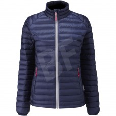 Insulated light foldable down jacket for women