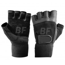 Gym Exercise Leather Weight Lifting Gloves for men