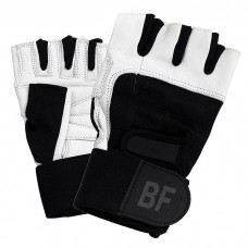 Beliefit Women's Fit Weight Lifting Black/White Gloves