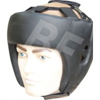 Genuine Leather Full Face Head Guard