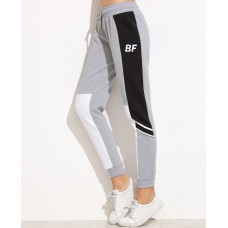 Top Quality Hot Sale Womens Joggers Black Plain Fitted Gym Sweatpants