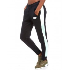 Black/White high quality women sweatpants gym jogger fleece trouser