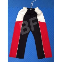 Fighter Kickboxing Pants with White/Black/Red Color