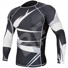 Fight Wear Long Sleeve Sublimation Rash Guard