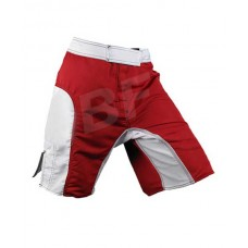 Red/White Men fighter mma Shorts