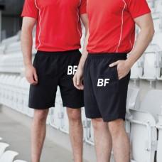 jogger sweat shorts 100%cotton custom logo workout sports fitness gym blank