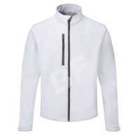 Soft Shell Man White tactical waterproof jacket