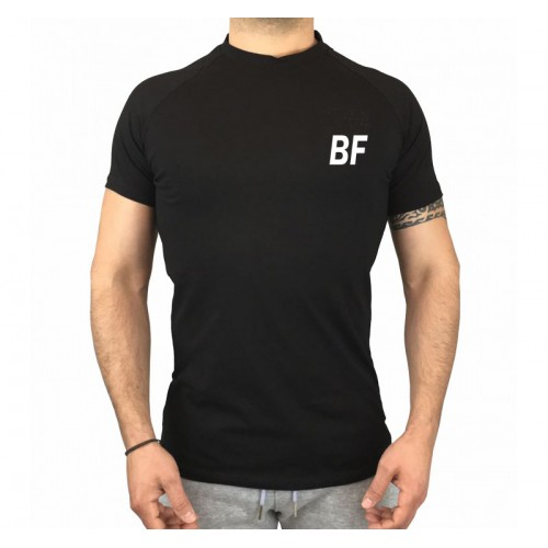 Black Men Short Sleeve Shirt