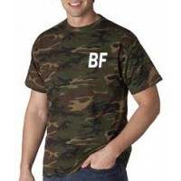 Camouflage Men Short sleeve Shirt